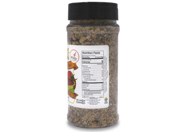 delectable datil medium salsa seasoning nutrition panel