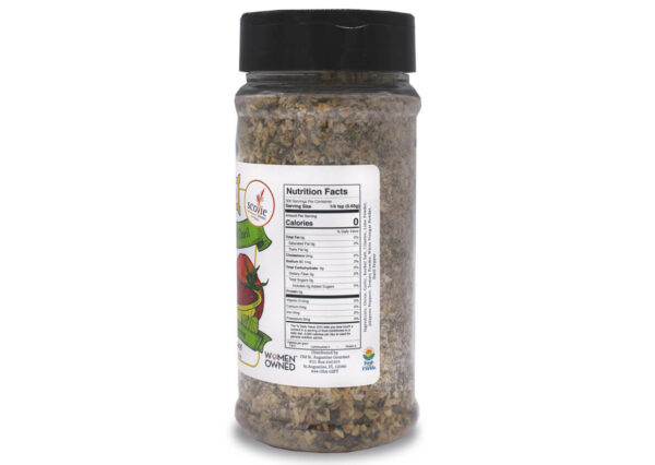 delectable datil mild salsa seasoning nutrition panel