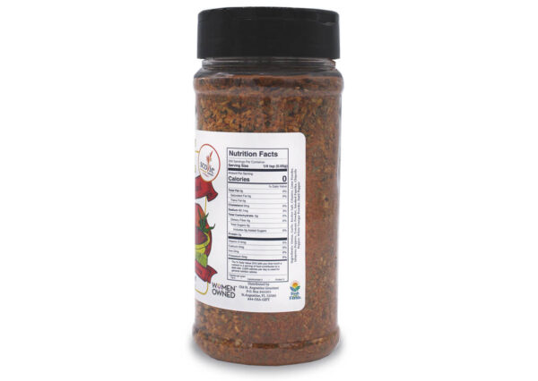 delectable datil smokin hot salsa seasoning nutrition panel