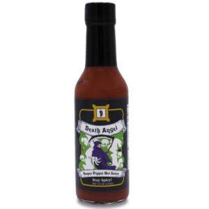 death angel reaper pepper hot sauce 5 oz