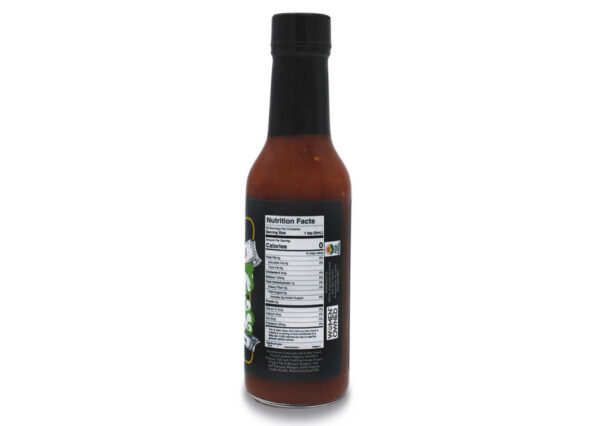 death angel reaper pepper hot sauce 5 oz nutrition panel