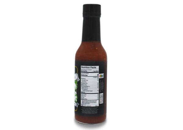 death angel reaper pepper hot sauce nutrition panel