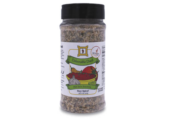 delectable datil mild salsa seasoning