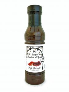 bottle of fountain of youth datil marinade