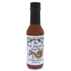 snake bit datil pepper hot sauce