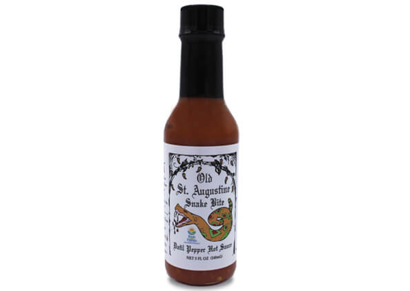 snake bite datil pepper hot sauce 5 oz