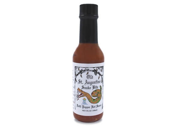 snake bite datil pepper hot sauce