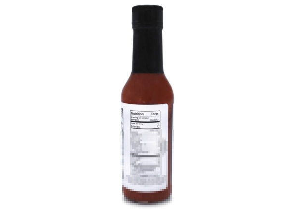 stinging lizard scorpion pepper hot sauce nutrition panel