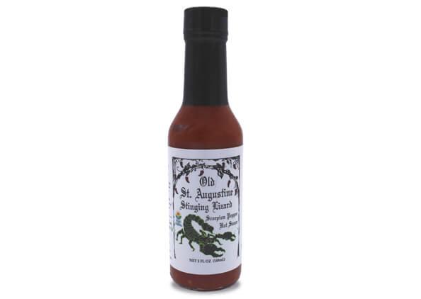 stinging lizard scorpion pepper hot sauce