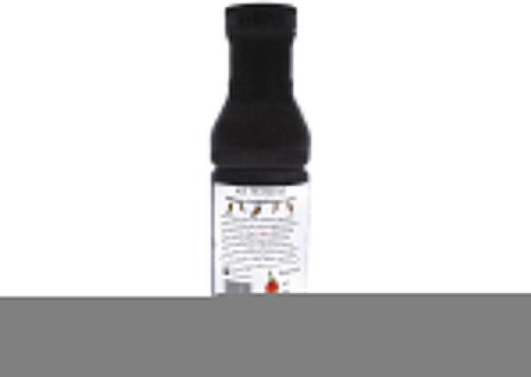 sweet heat bbq sauce 12 oz side panel
