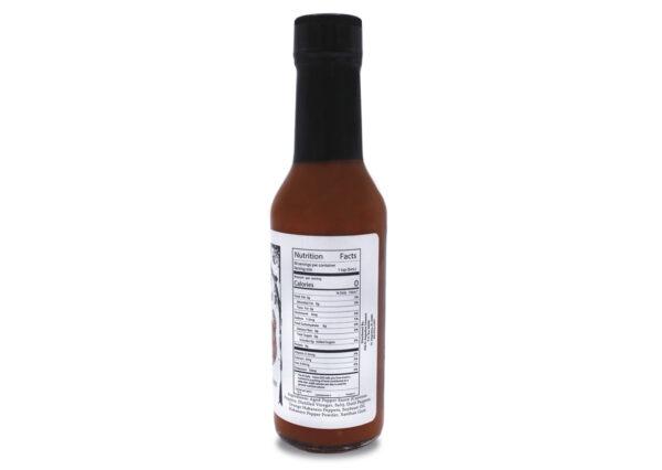 venom datil pepper hot sauce 5 oz nutrition panel