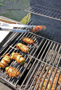 Datil Cowboy Coffee Rub Crusted Jalapeno Poppers on the Grill